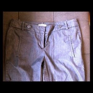 Cropped work pants